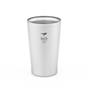 Ti9221 钛双层啤酒杯 Double-wall Titanium Beer Cup